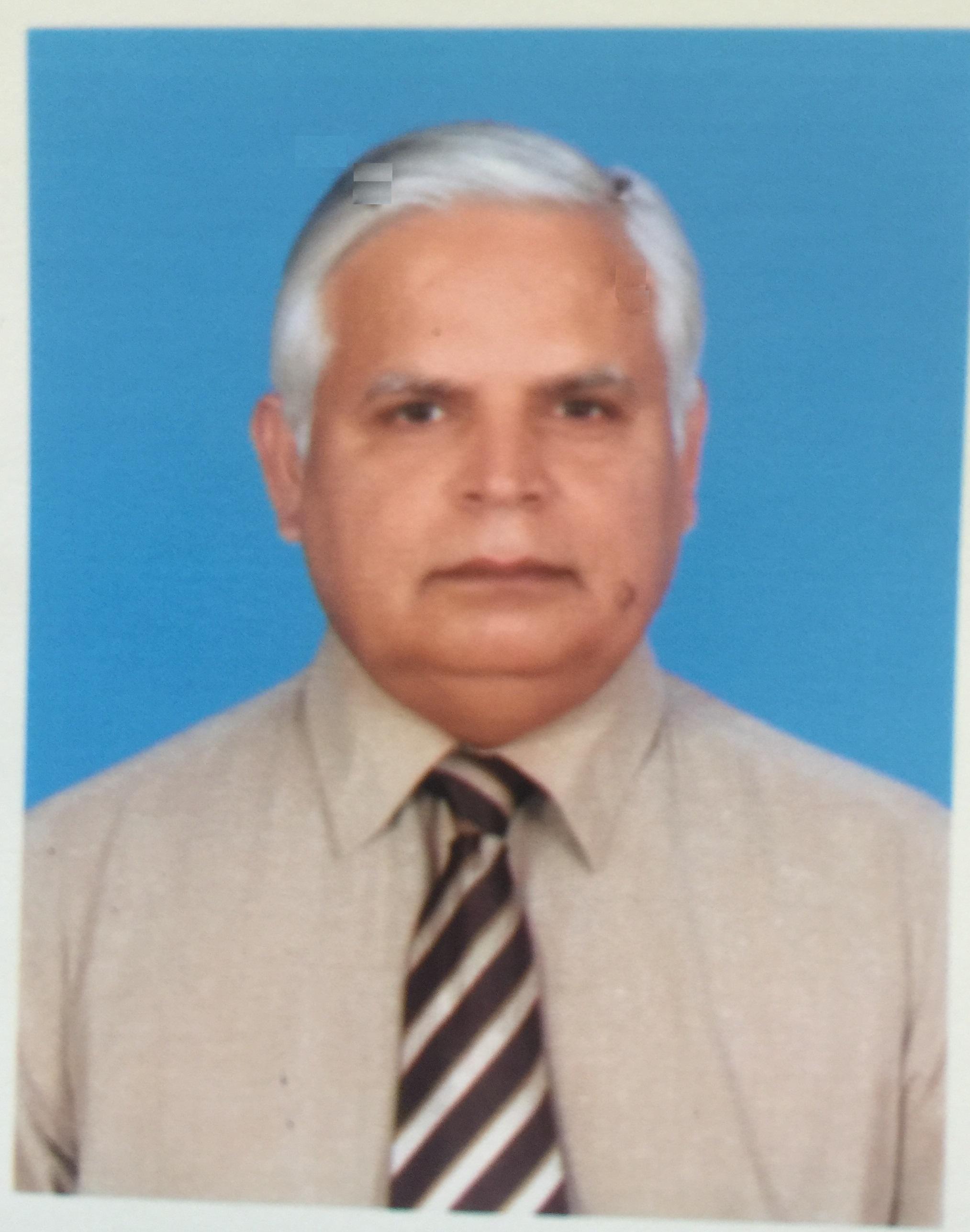 Prof. Dr Nisar-Ur-Rahman